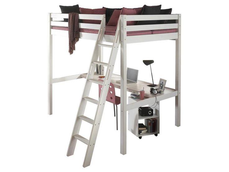 die besten 25 hochbett 140x200 ideen auf pinterest ikea betten 140x200 bett 140x200 wei und. Black Bedroom Furniture Sets. Home Design Ideas