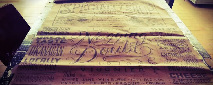 Stampa vintage su carta pacco #old #vintage #plotter #print