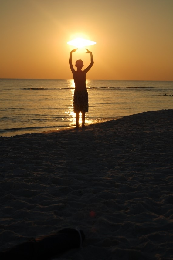 Good vibes sunset.