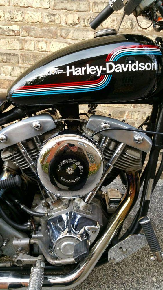 1975 Harley Davidson FX-1200 Superglide Shovelhead for sale