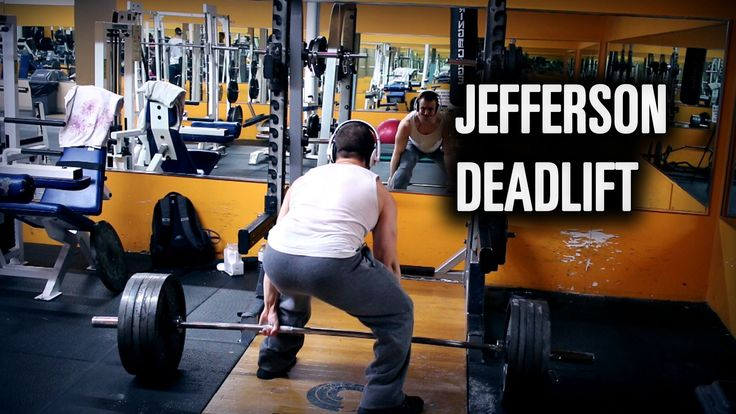 Jefferson Deadlift Benefits for Strength Athletes