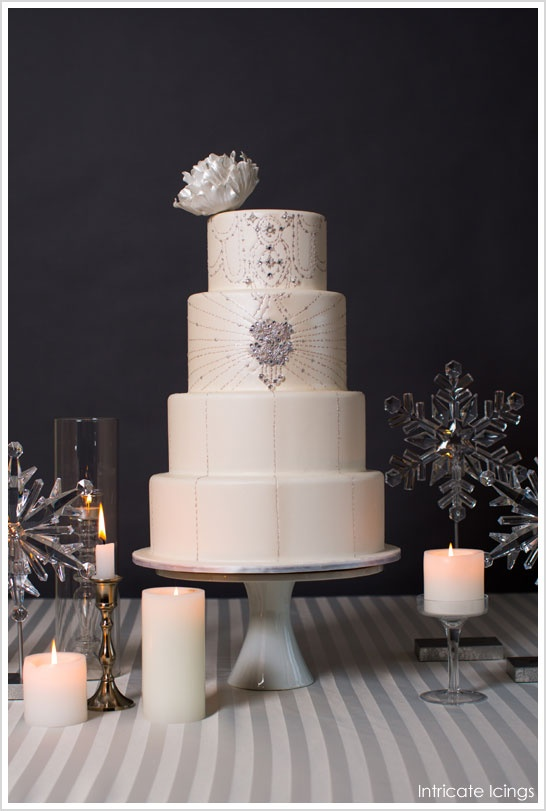 Wedding Cakes | Crystal Detail