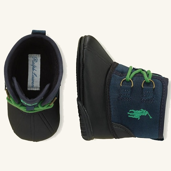 Ralph Lauren Layette Baby Packer Snow Boot Shoes