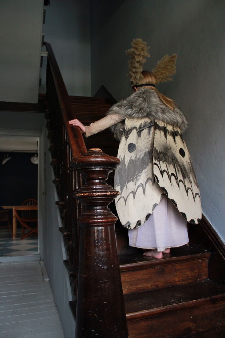 """Mer Mag: Halloween Moth Costume *ALMOST* a DIY, more of a FIY: """"Here's basic…"""