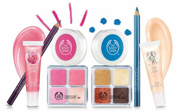 The Body Shop 2014 Cosmetic Collection