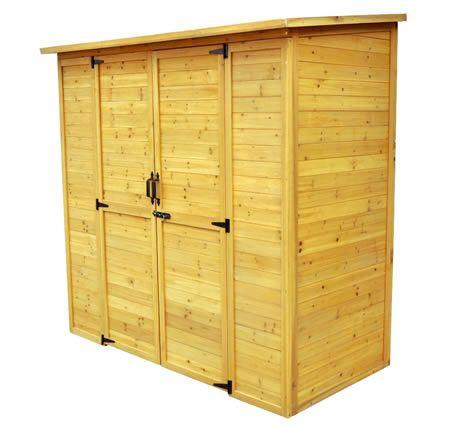 Leisure Season 6x3 Large Wood Storage Shed Kit