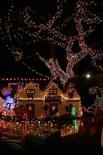 Where to see Christmas Lights in San Diego by Hidden SD