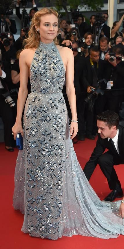 The Best of the 2015 Cannes Film Festival Red Carpet - Diane Kruger from #InStyle