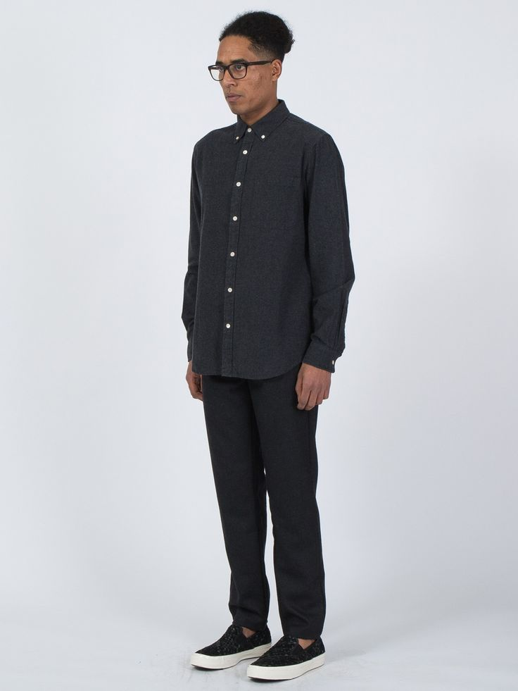 Staple Button Down in black - http://bit.ly/1Yu7po1