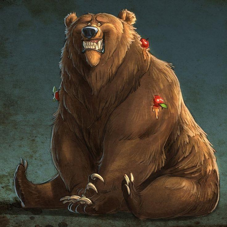 узнаваема, красивые рисунки медведей развод мог