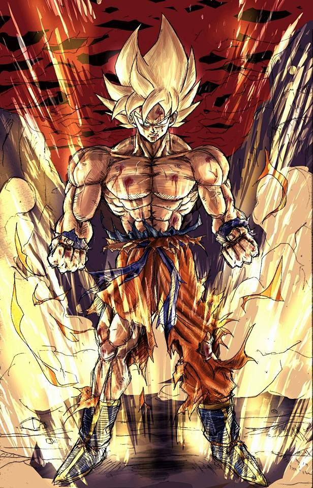 Son Goku  #El Legendario Super Sayayin
