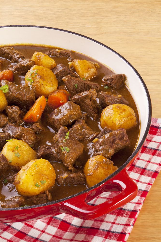 Crockpot Beef Stew (Paleo) | Paleohacks - substitute sweet potato, butternut squash, and/or parsnips for potato