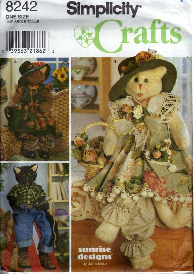 32 best Soft Sculpture Sewing Patterns images on Pinterest | Soft ...