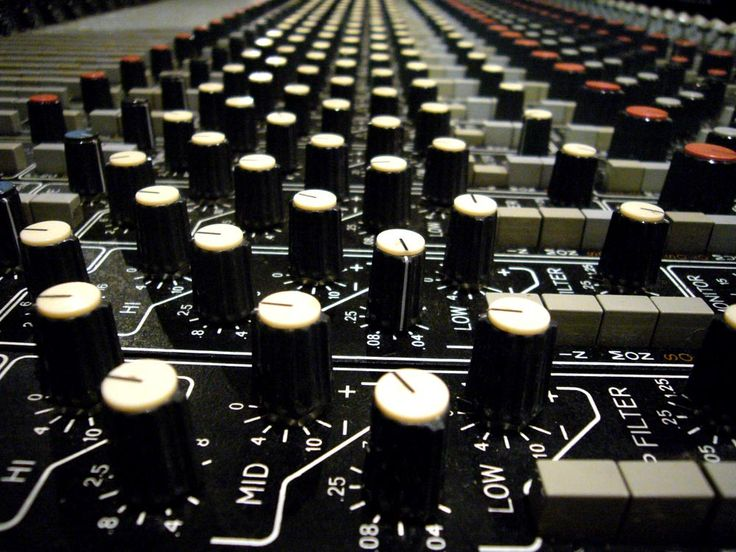 harrison mixing console
