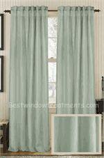 Elegant Solid Silk Curtain Panel :Ready Made Or Custom | Best Window Treatments