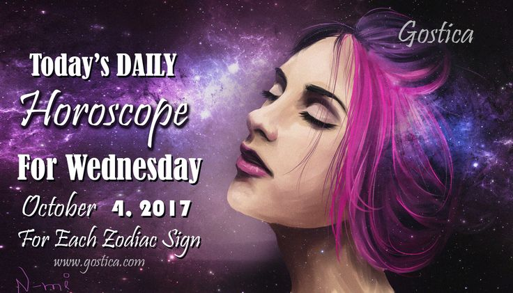Today's DAILY Horoscope For Wednesday, October 4 , 2017 For Each Zodiac Sign