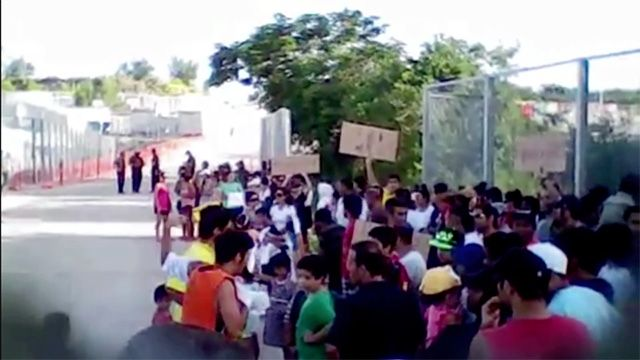 Resettlement offer to asylum seekers may have breached Cambodia deal  Asylum seekers on Nauru have been approached about resettlement in Cambodia, in apparent breach of deal specifying only those with refugee status should be considered