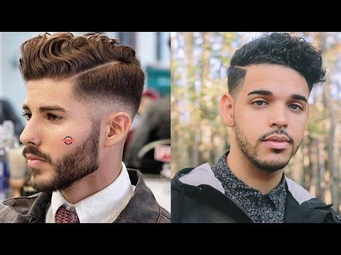 Mens Fall Hairstyle | 2015 | Tutorial | (Thick Mixed Curly Wavy Hair) | TheBrandonLeeCook - YouTube