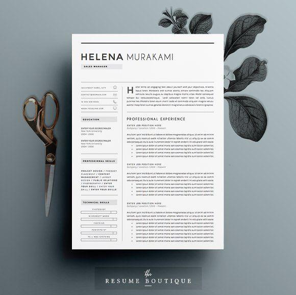 100 best Resume Templates images on Pinterest Cv template - good resume outline