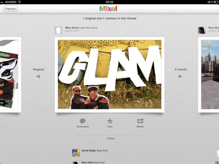 Mixel iPad app