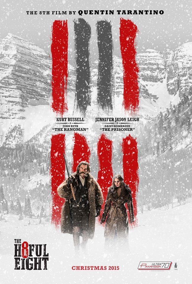 The Hateful Eight, Feature Film by Quentin Tarantino About a Group of Dangerous Bounty Hunters