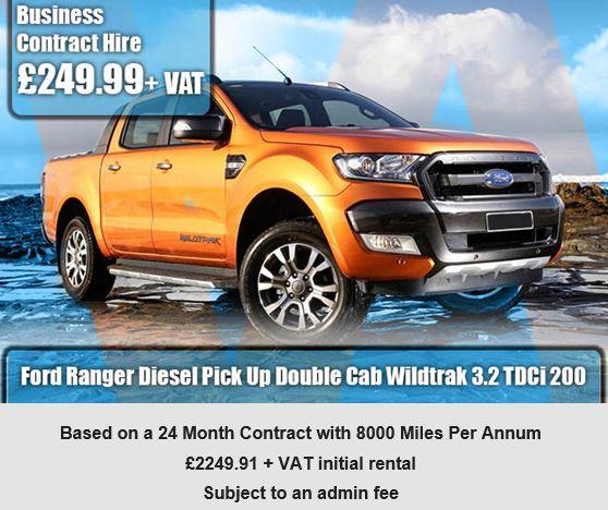 Ford Ranger Diesel Pick Up Double Cab Wildtrak 3.2 TDCi 200