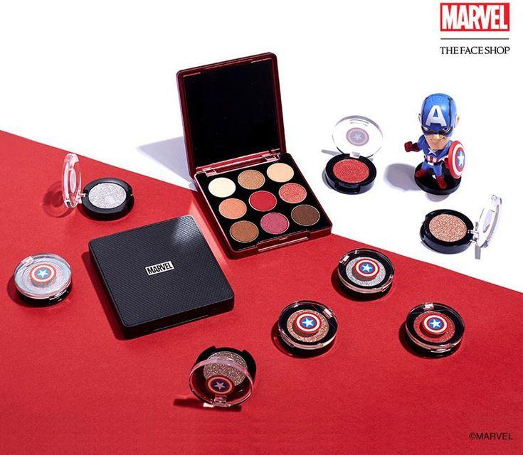 Coleção de maquiagens Marvel