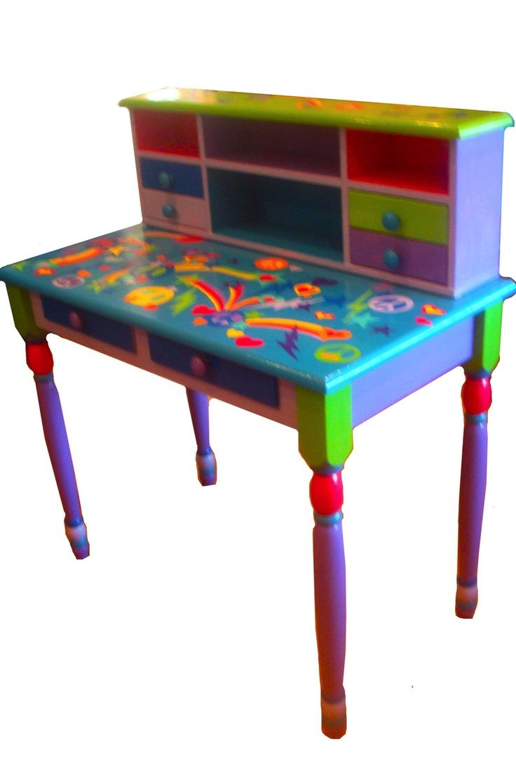 Whimsical+Painted+Furniture+Art | Whimsical Painted Furniture | hip retro art work, ... | Whimsical Art