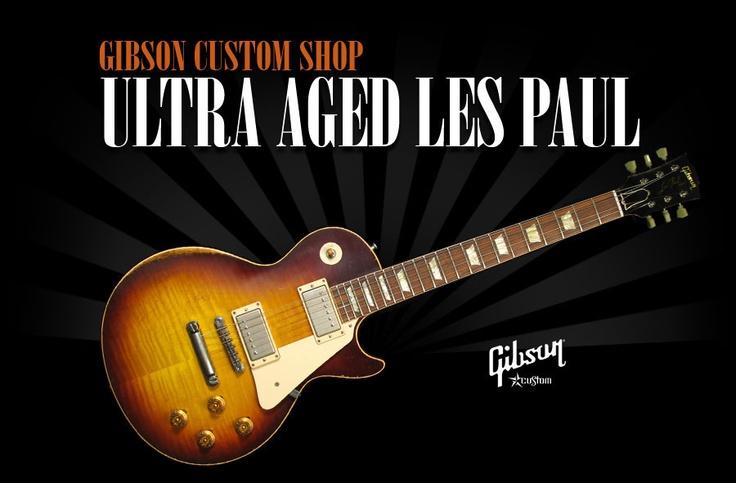 Gibson Custom Shop Ultra Aged Les Pauls