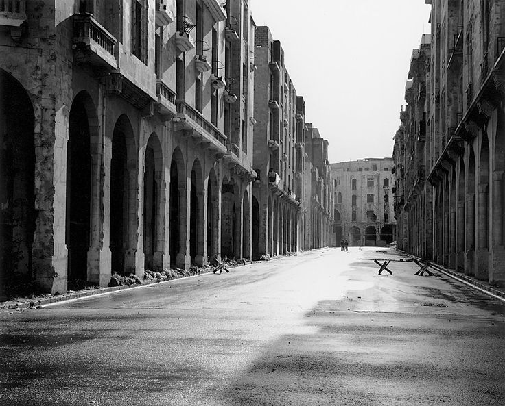 Gabriele Basilico, Beirut, Lebanon, 1991