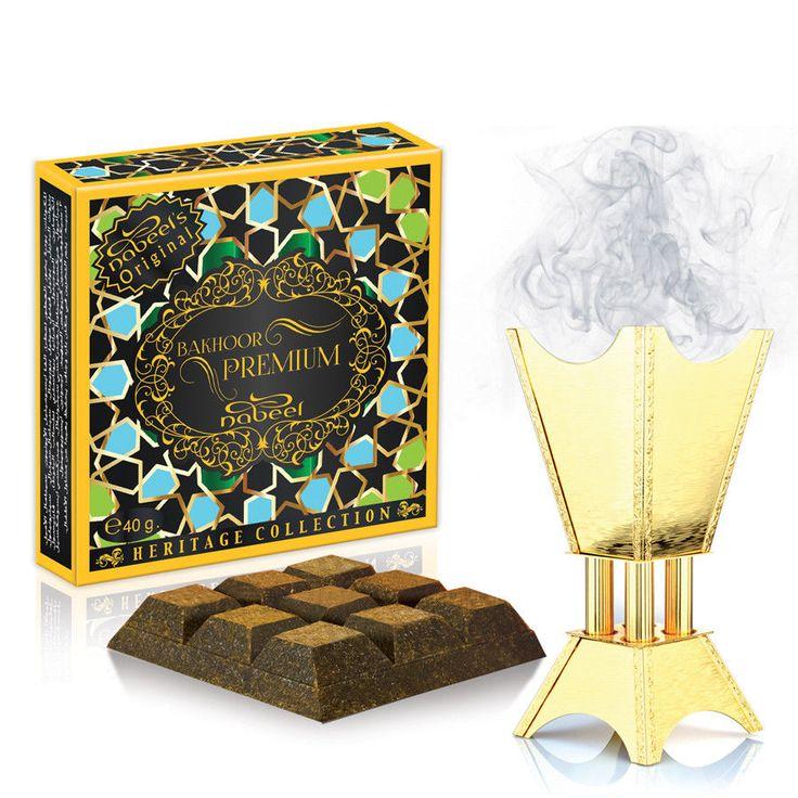 Nabeel Bakhoor Premium Bukhoor 40g Incense Home Fragrance #Nabeel #AsianOriental