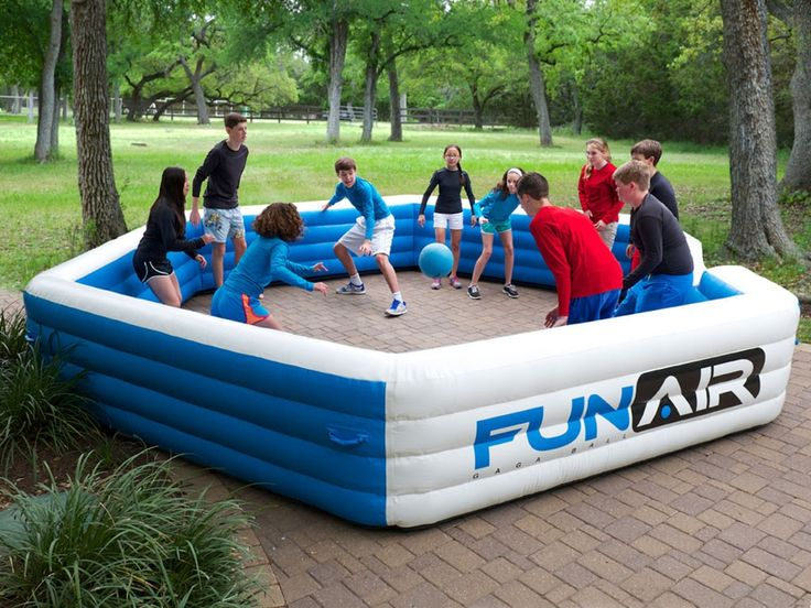Inflatable GaGa Ball Pit - fits up to 20 kids and provides hours of fun and healthy active play for kids and adults.  We deliver and set up to all towns in Fairfield County, CT.    www.SuperFunInflatables.com