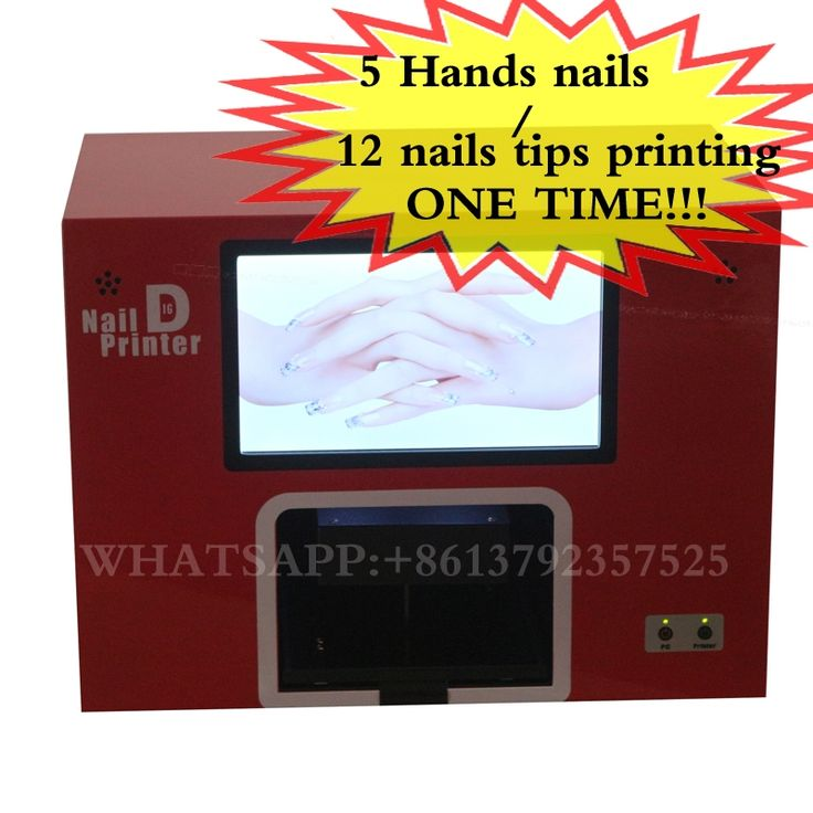 1095.00$  Buy now - http://alidef.worldwells.pw/go.php?t=32713072844 - Professional Nail Art Printer with screen nail and flower printer All in One