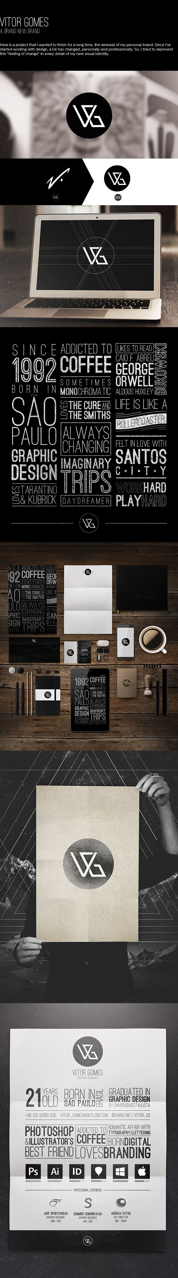 Vitor Gomes - A brand new brand by Vitor Gomes, via Behance