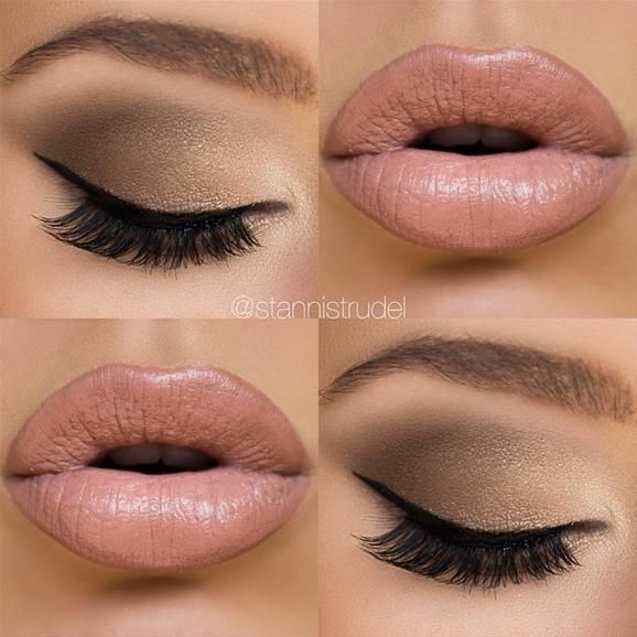 Neutral Smoky and Nude Lips @stannistrudel