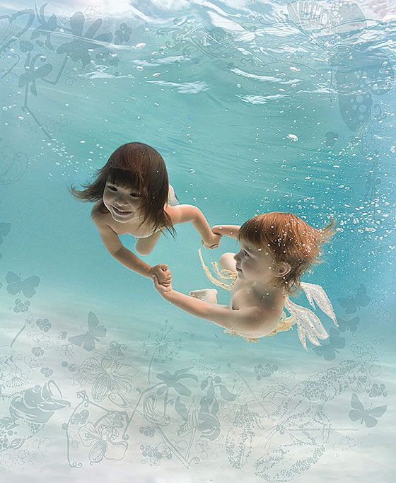 Underwater -- amazing...by Zena Holloway More