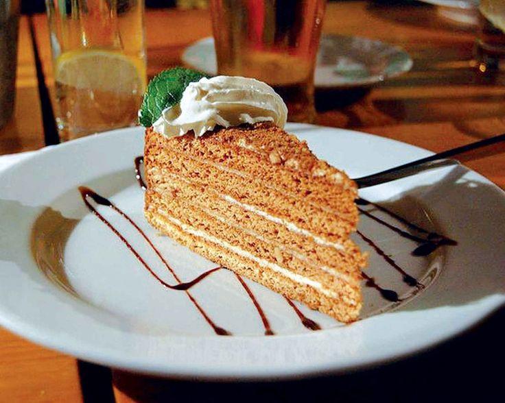 Tolstého dort - řez