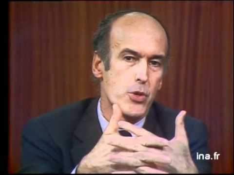 Débat présidentiel de 1974 entre Valéry Giscard d'Estaing et François Mi...