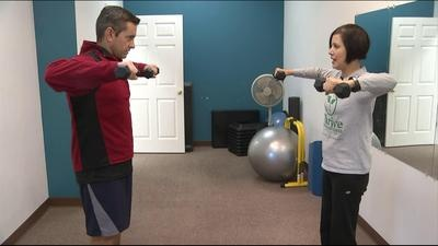 Springfield, Mo; Many office workers hunch over a typewriter each and every day and that can lead to bad posture. KY3's Paul Adler spent Fit Friday visting with  Pamela Hernandez of Thrive Personal Fitness  to learn what you can do to improve your posture.