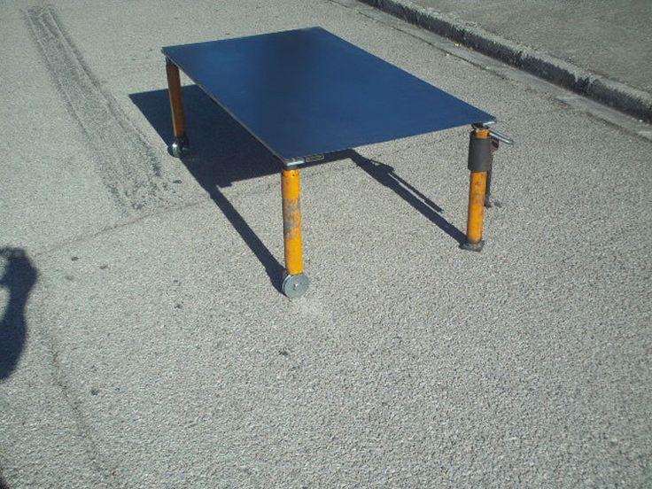 scafold table