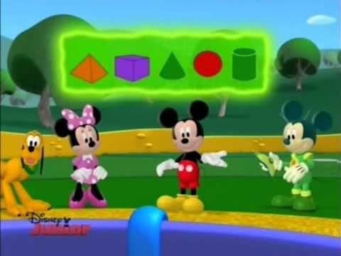 Klub przyjaciół Myszki Miki - Pokaz brył