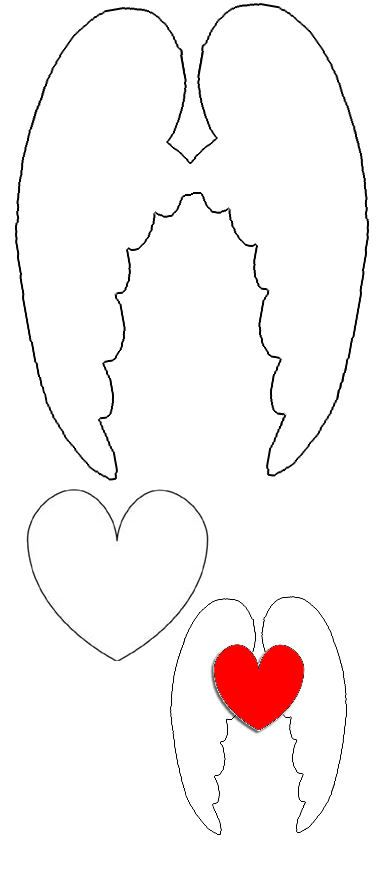 pattern for angel wings - Google Search                              …                                                                                                                                                                                 More