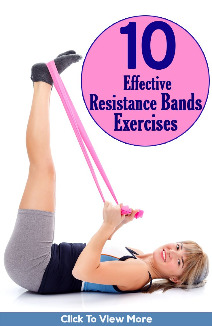 10 Effective Resistance Bands Exercises And Their Benefits