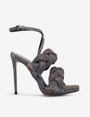 MARCO DE VINCENZO Braided lurex high heeled-sandals #theshoescholar #adornment #heels #pumps #stilettos #shoes follow @coletteahsekal for more