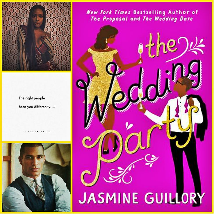 The Wedding Party by Jasmine Guillory The wedding date