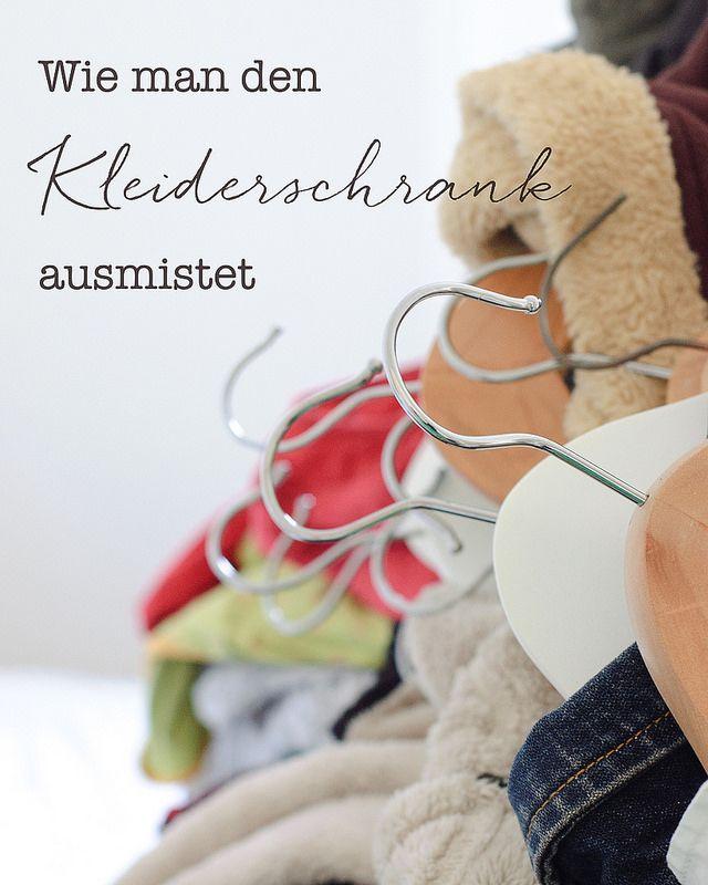 Simple Wie man den Kleiderschrank ausmistet und dabei seinen Stil findet
