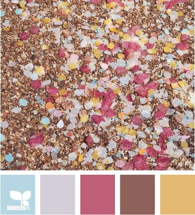 Creating Palettes - leaning cool, but soft.