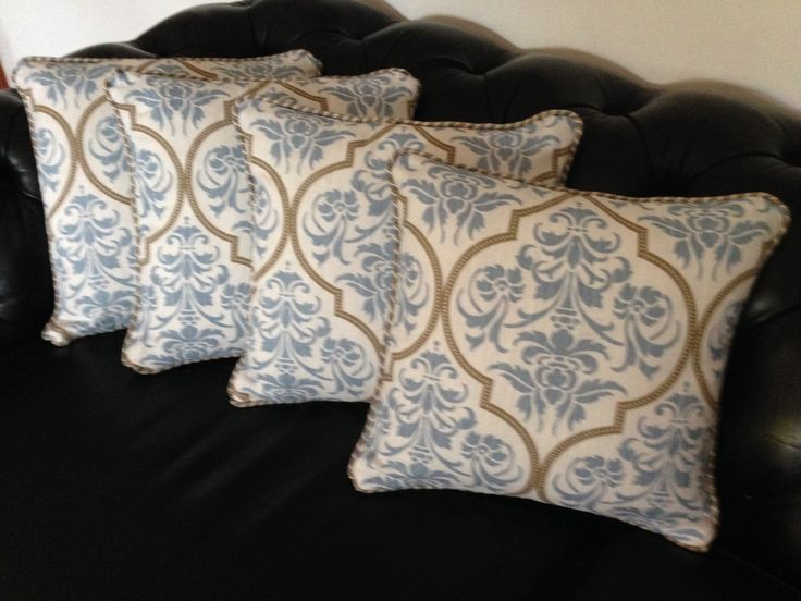 The finishing touches for our#SMAD#CountryProvincialProject-#SMAD#Upholstery#ProvincialCushions