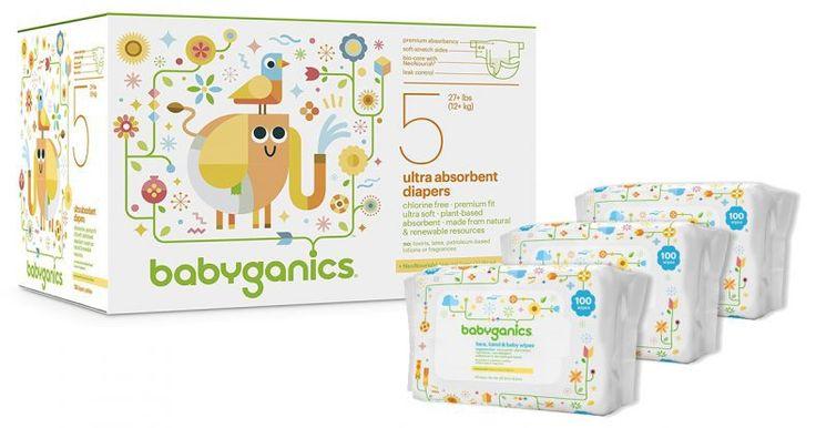 Amazon Deal :  50% Off Babyganics Diapers Coupon 136-Count Size 5 Diapers $17.99 - http://couponsdowork.com/amazon-deals/amazon-deal-50-off-babyganics-diapers-coupon-136-count-size-5-diapers-17-99/