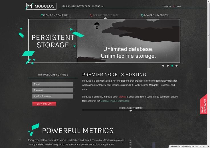 Modulus | Node.js Hosting Platform
